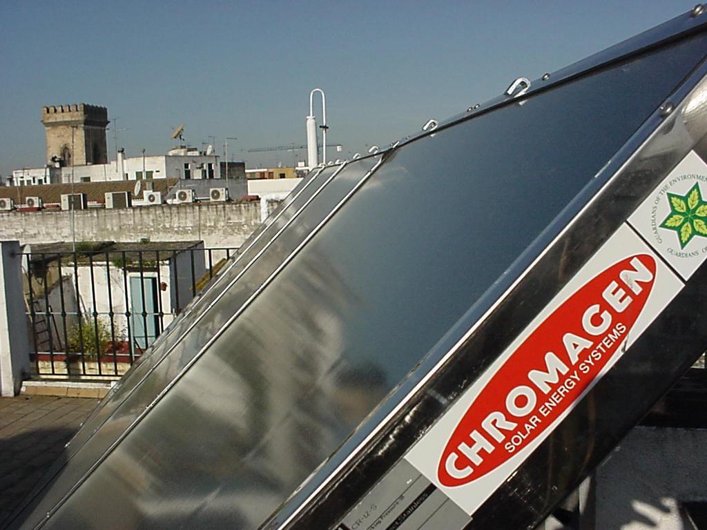 Instalación Captador solar Chromagen PRO