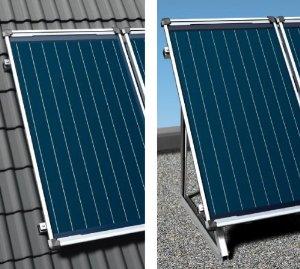 Instalación Captador solar Junkers FCC FCB