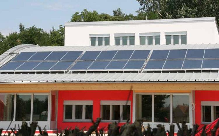 Instalación Captador solar Salvador Escoda ALPIN RK