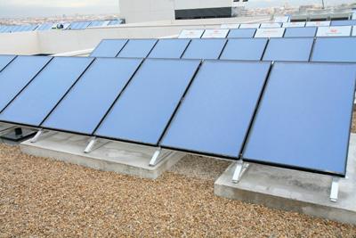 Instalación Captador solar Saunier Duval HelioPLAN SRV 2.3