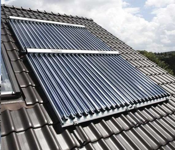 Instalación Captador solar Vaillant auroTHERM Exclusiv