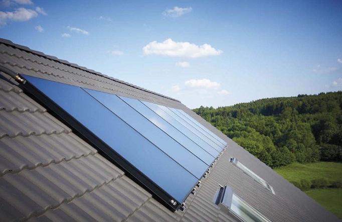Instalación Captador solar Vaillant auroTHERM VFK 125-145V