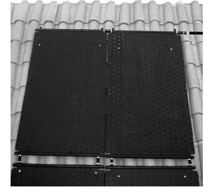 Instalación Captador solar para piscinas Salvador Escoda ESCOPOOL 2.2