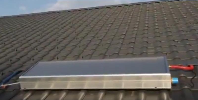 Instalación del Captador solar SOLCRAFTE
