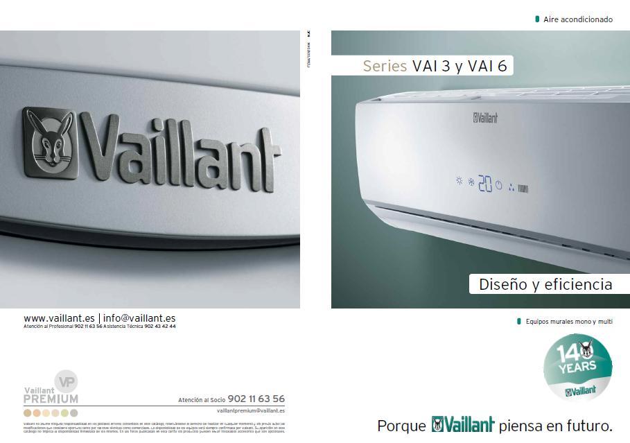 Catalogo aire acondicionado Vaillant