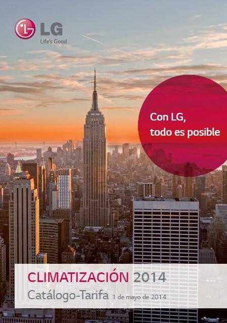 LG AC tarifa 2014