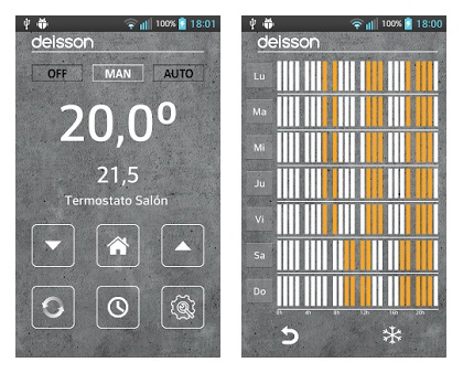 app deisson pantallas