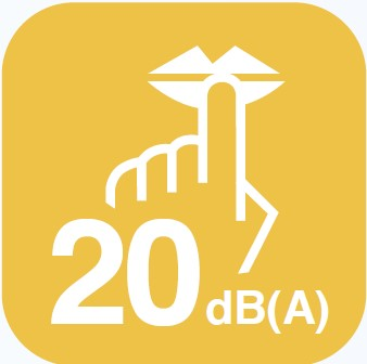 20 dBA
