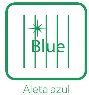 Aleta azul
