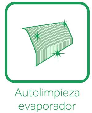 Autolimpieza evaporador