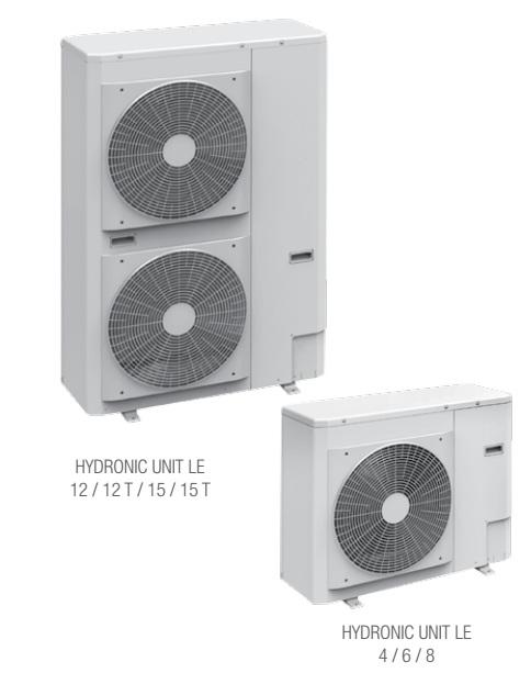 Bomba de calor hydronic unit le beretta