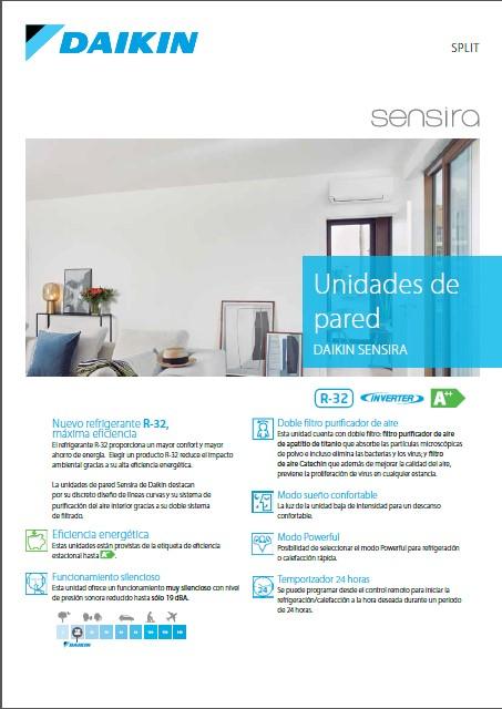 CONJUNTOS SPLIT DE PARED SENSIRA