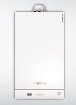 Caldera mural de condensación a gas Vitodens 050-W