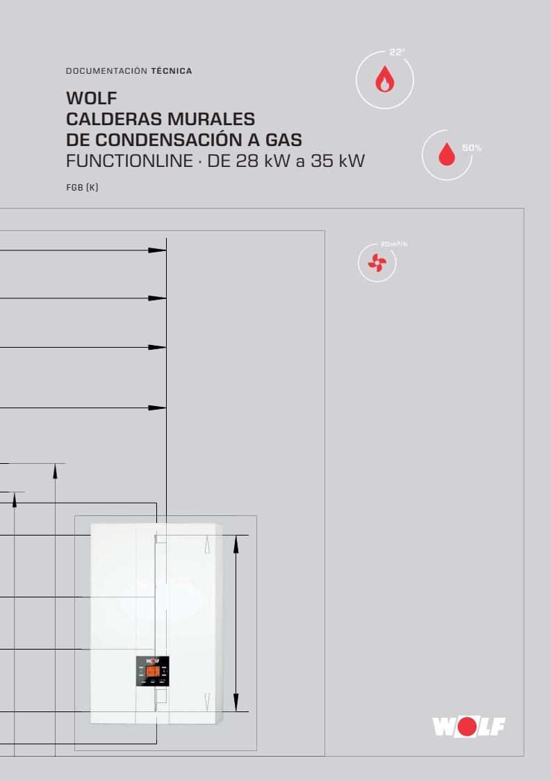 Catalogo Calderas de condensacion a gas mural Wolf FGB