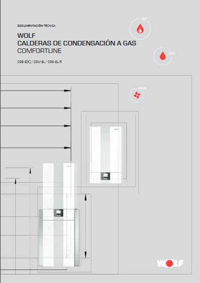 Catalogo calderas de condensacion a gas mural CGB
