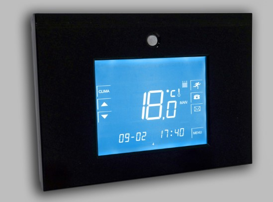Central Domotica Deisson  Touch con Control WiFi AD2050 Real