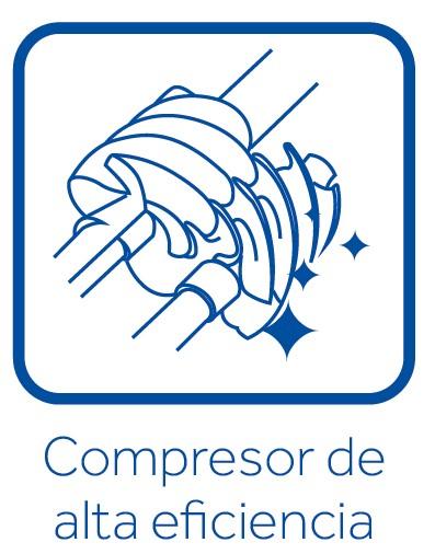 Compresor de alta eficiencia