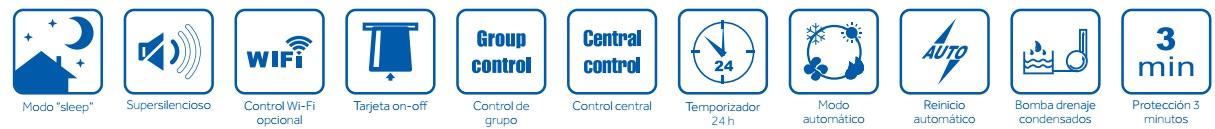 Conductos baja presion r32 caracteristicas