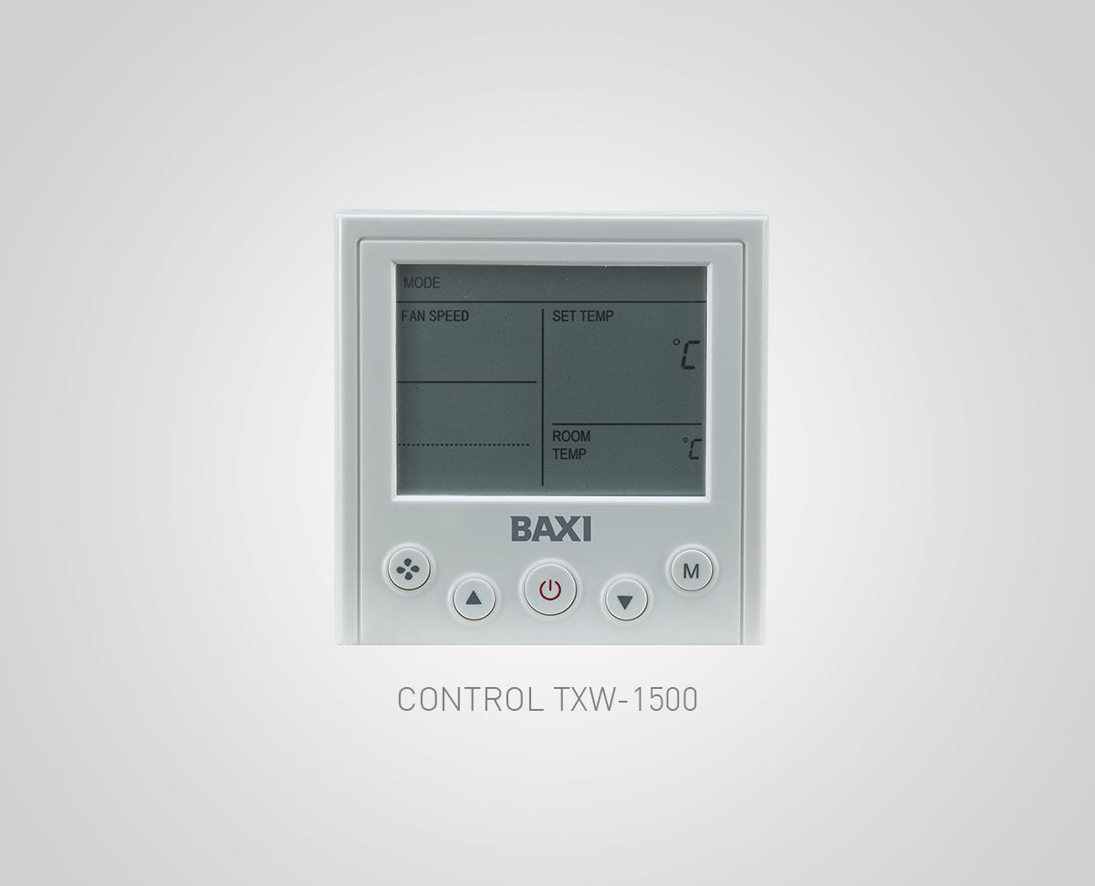Control Baxi TXW-1500