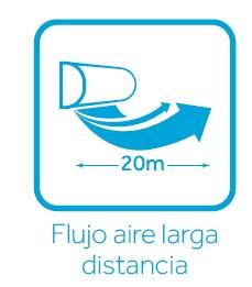 Flujo de aire larga distancia Nebula