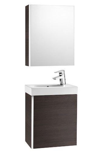 Mueble de baño base Roca de MINI  650mm Arena texturizada wenge texturizado