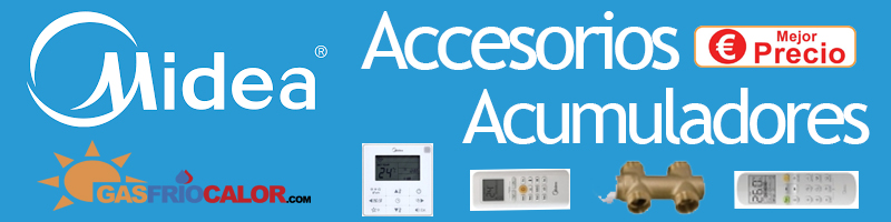 Comprar Accesorios Acumuladores Midea