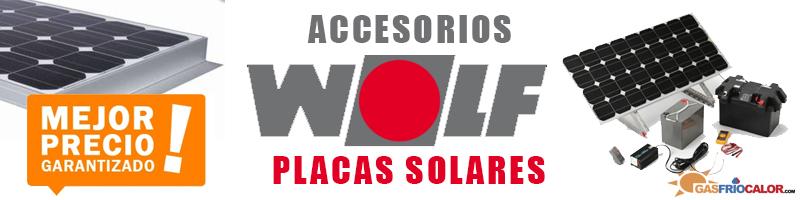 Comprar Accesorios Placas Solares Wolf