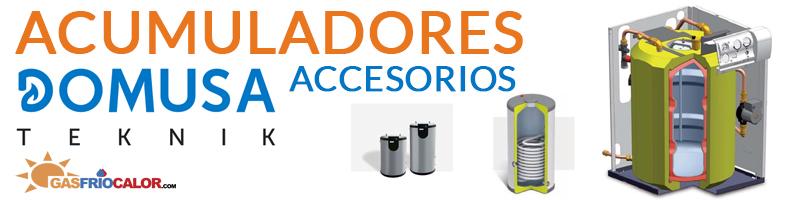Comprar Accesorios Acumuladores Domusa