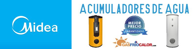 acumuladores agua midea h2
