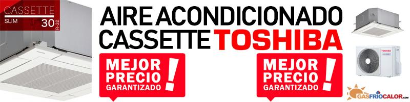Comprar Aire Acondicionado Cassette Toshiba