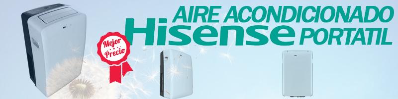 Comprar Aire Acondicionado Portatil Hisense