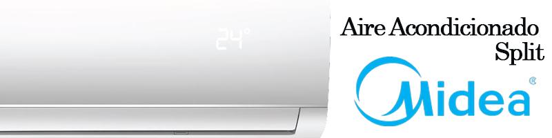 aire acondicionado split midea