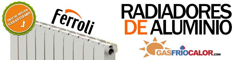 banner radiador ferroli