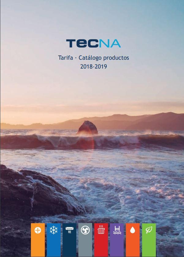 catalogo precios tecna 2018