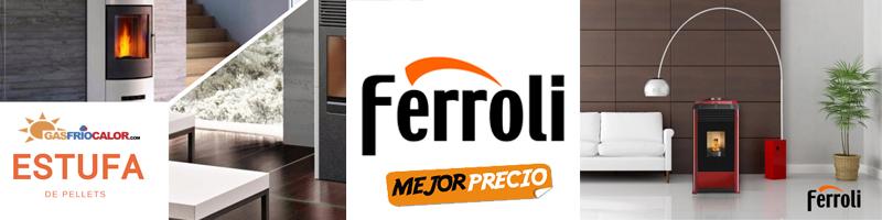 Comprar Estufa de Pellets Ferroli