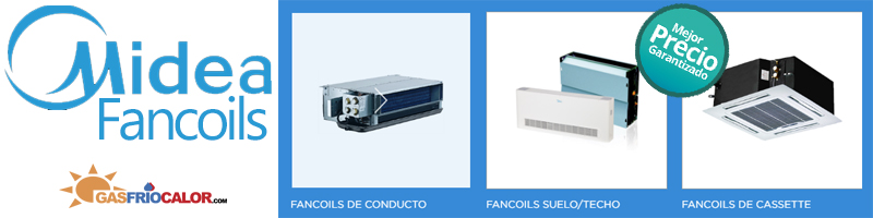 Comprar Fancoils Midea