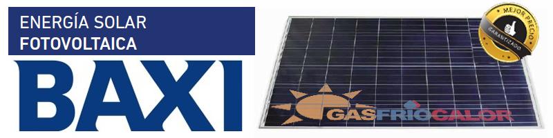 Comprar Placas Solares Fovoltaicas Baxi