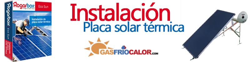 Instalación Placa Solar Térmica