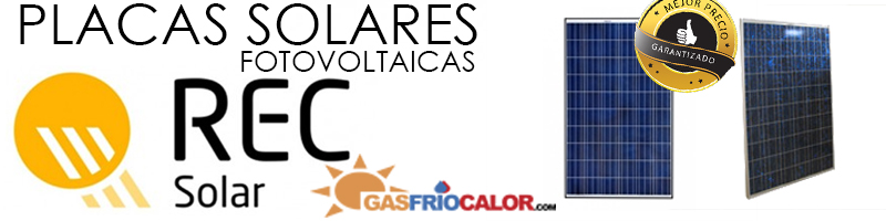 Comprar Placas Solares Fotovoltaicos REC