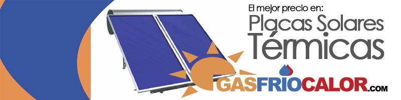 Comprar Placas Solares Térmicas de Gasfriocalor