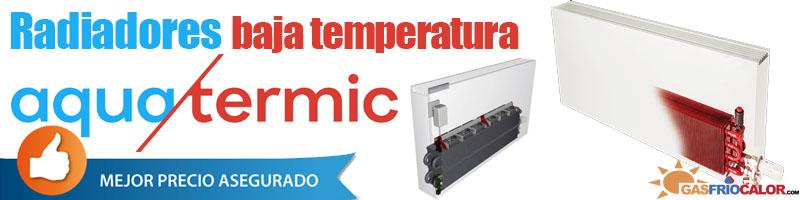 Comprar Radiador Baja Temperatura Aquatermic