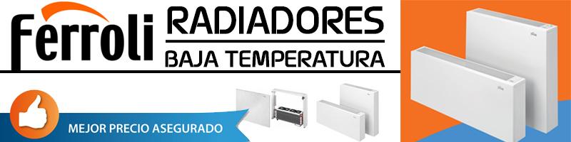 Comprar Radiador Baja Temperatura Ferroli