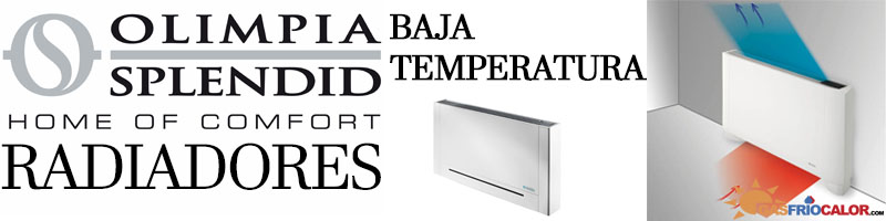 Comprar Radiador Baja Temperatura Olimpia