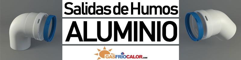 Comprar Salida Humos ALuminio