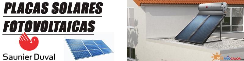 Comprar Placa Solar Fotovoltaica Saunier Duval