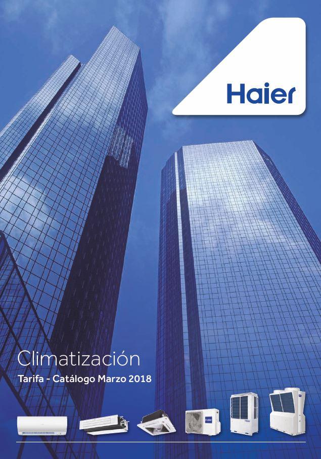 Catalogo tarifa Haier 2018