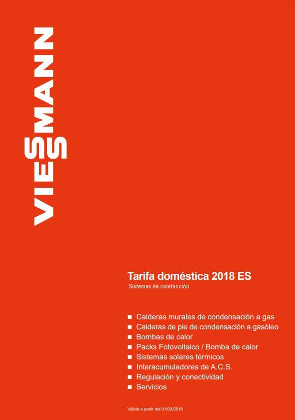 Tarifa Vaillant 2018