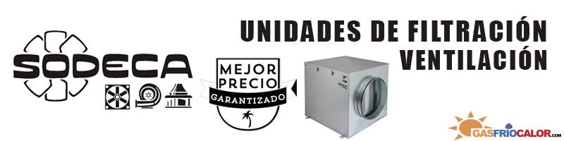Comprar Unidades Filtracion Sodeca