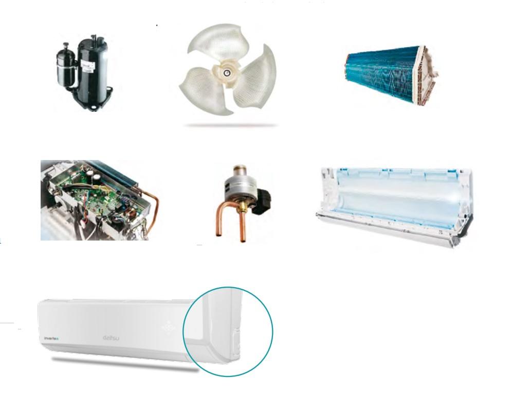 Aire Acondicionado Split Daitsu ASD Ui-DN - Su nueva tecnologia