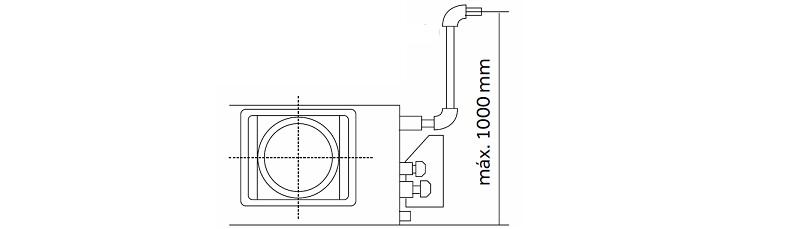 Aire acondicionado conductos Haier AD - Bomba de condensados